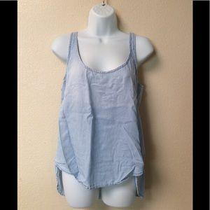 CLOTH & STONE Chambray tank top | summer shirt